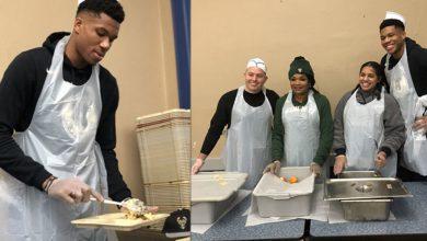 Photo of Ο Γιάννης Αντεντοκούνμπο ετοίμασε και δώρισε φαγητό σε άστεγους αξίας 50.000 δολαρίων