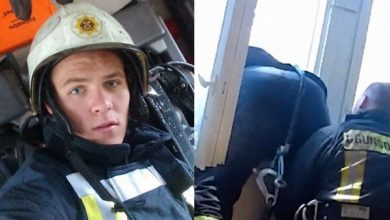 Photo of Ο πυροσβέστης της χρονιάς, έπιασε στον αέρα γυναίκα που πήδηξε από το μπαλκόνι της