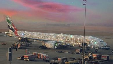 Photo of Το χριστουγεννιάτικο αεροπλάνο των Emirates ζαλίζει από τα διαμάντια