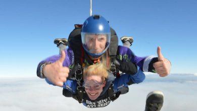 Photo of Ζέτα Μακρυπούλια: Λάτρης των extreme sports! Έκανε ξανά ελεύθερη πτώση [pics]