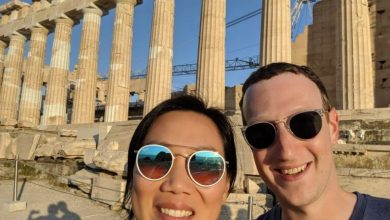 Photo of Mark Zuckerberg: Έκανε check in στην Ακρόπολη!