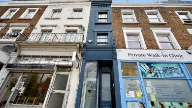 Photo of Το «στενότερο σπίτι στο Λονδίνο» με πρόσοψη 1,6μ. πωλείται για ένα εκατομμύριο λίρες
