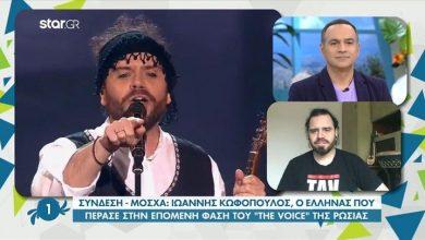 Photo of Γιάννης Κουφόπουλος: Ο Έλληνας που ενθουσίασε στο ρωσικό «The Voice»