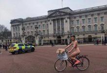 Photo of Βρετανίδα διήνυσε σχεδόν γυμνή με το ποδήλατό της 15 χλμ στο Λονδίνο για καλό σκοπό