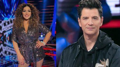 Photo of The Voice: Έλενα Παπαρίζου και Σάκης Ρουβάς ερμήνευσαν τα νέα τραγούδια τους