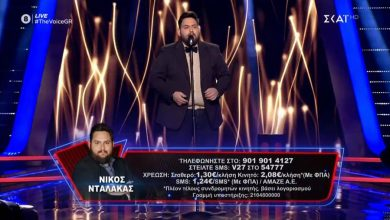Photo of Στον ημιτελικό του The Voice ο Λαρισαίος Νίκος Νταλάκας