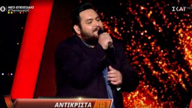 Photo of Συνεχίζει στο The Voice ο Λαρισαίος Νίκος Νταλάκας, πέρασε στα cross battles