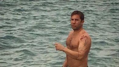 Photo of Γιώργος Μαζωνάκης: Πήγε για μπάνιο, ενώ χιονίζει