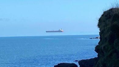 Photo of Το πλοίο… που αιωρείται στη θάλασσα της Κορνουάλης